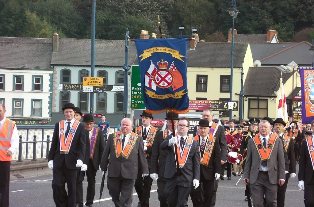Ulster Day Church Service & Parade 2013